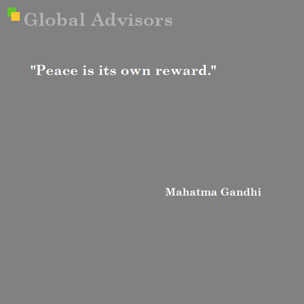 Quote Mahatma Gandhi Strategy Management Global Advisors
