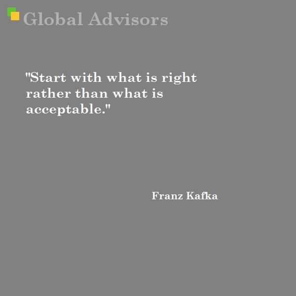Quote: Franz Kafka | Strategy | Management | Global Advisors